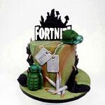 Fortnite Taart, Bruno 9 jaar, taart Den Bosch