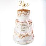 Confetti Wedding Cake, You Me Oui, Kamiel en Karlijn, bruidstaart 's-Hertogenbosch, bruidstaart den bosch