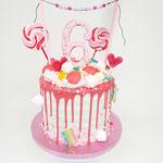 CandyWonderland DripCake, Lotus 6 jaar, Taart Den Bosch
