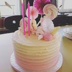 Ombre Candy Cake, Teddy 2 jaar, Taart Den Bosch
