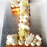 Cijfer Cake, One Year Xavier, Taart Den Bosch
