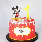 Mickey taart, Sjef, Taart Den Bosch