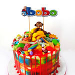 Bobo taart, in  opdracht van Blink Uitgeverij