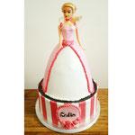 Barbie taart Sophie, Taart Den Bosch