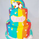 Happy Horse Rainbow Cake, Lot, Taart Den Bosch