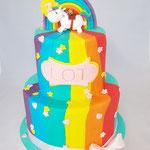 Happy Horse Rainbow Cake, Lot, Taart Den Bosch