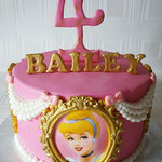 Prinsessen taart, Hailey, Taart Den Bosch