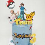 PokemonTaart, Teun 6 jaar, Taart Den Bosch