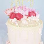 Soft Pink Cake, Taart Den Bosch