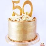 Fifty Years taart, taart Den Bosch