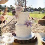 Pastel Wedding Cake, Monique en Randy, Bruidstaart Den Bosch, Weddingcake Den Bosch