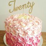 Twenty Years taart, taart Den Bosch