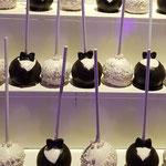 WeddingCouple CAkePops, Cakepops Den Bosch