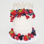 SemiNaked with Fruit, Inger en Stefan, Bruidstaart Den Bosch, WeddingCakes Den Bosch