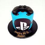 Play Station Cake, Vasko 30, Taart Den Bosch