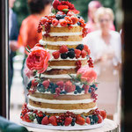 Naked Wedding Cake, Tom en Suzan, bruidstaart 's-Hertogenbosch, bruidstaart den bosch
