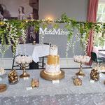 WeddingSweetTable Liwei en Kai, lokatie Kasteel Maurick te Vught