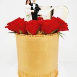 Nostalgic, 50 years married, Bruidstaart Den Bosch