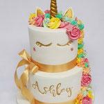 Unicorn Cake, Ashley,Taart Den Bosch