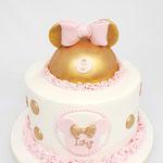 Princess Minnie, Ivy 3 jaar, Taart Den Bosch
