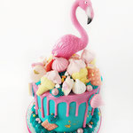 SweetTable Flamingo,Cherrie Cake, Sweettable Den Bosch