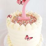 Sprinkle First BirthdayCake, Bo-Marie 1 jaar, Taart Den Bosch