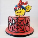 Spiderman taart Rafi, taart Den Bosch