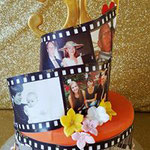 Fifty years Taart, Photo Cake, Madie, Sarah Taart, Taart Den Bosch