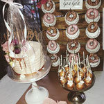 SweetTable Rose Gold, Donutwall, Roselynn, Sweettable Den Bosch, Donutwall Den Bosch