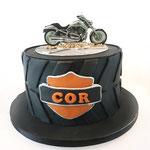 Harley Davidson Cake, Taart Den Bosch