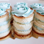 Mini Naked Cake, BabyBoy, CupCakes Den Bosch