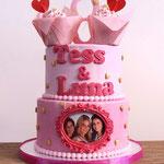K3 taart, Tess en Luna, Taart Den Bosch