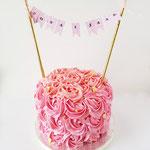 Buttercream Roses Cake, Taart Den Bosch