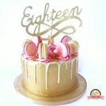 Sweet Eightteen Taart, Taart Den Bosch