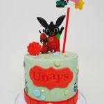 Bing Cake, Unays 1 jaar, Taart Den Bosch
