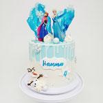 Frozen, Hanna, Taart Den Bosch