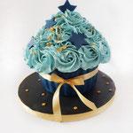 CakeSmash DarkBlue, Giant CupCake, Cakesmash Den Bosch