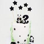 Panda Cake, Timur 2 jaar, Taart Den Bosch