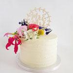 Marit en Patrick, Tropical WeddingCake, Bruidstaart Den Bosch