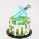 Minecraft Taart, Finn, Taart Den Bosch