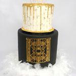 Great Gatsby Cake, Roaring Twenties Cake, Taart Den Bosch