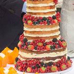 Naked Wedding Cake, Jacobijn, bruidstaart 's-Hertogenbosch, bruidstaart den bosch