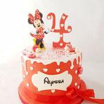 Minnie Taart, Alyssa 4, taart Den Bosch