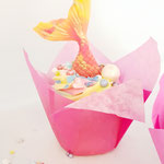 SeaMermaid CupCake, Zeemeermin cupcake, CupCakes Den Bosch