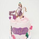 Rapunzel Taart, Scarlett 5 jaar, Taart Den Bosch