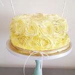 Buttercream roses taart, Taart Den Bosch