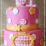 Polkadot taart, Fleur, Taart Den Bosch