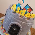 Aidan, kasteel taart, taart Den Bosch