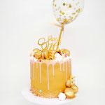 Golden Sweet Sixteen Cake, Taart Den Bosch