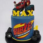 Blaze BirthdayCake, Max 4 jaar, Taart Den Bosch